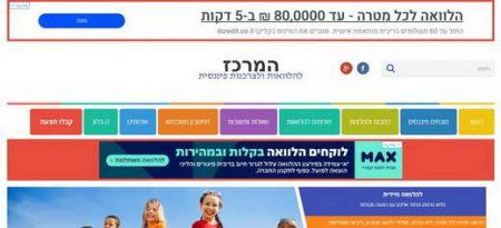המרכז להלוואות ולצרכנות פיננסית