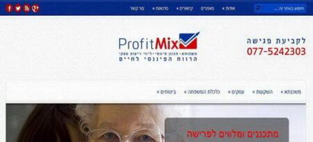 יעוץ ליווי משכנתאות - PROFIT-MIX